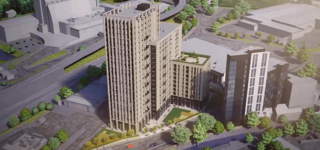 Godwin Capital and Capital 3PM BTR Scheme Sheffield